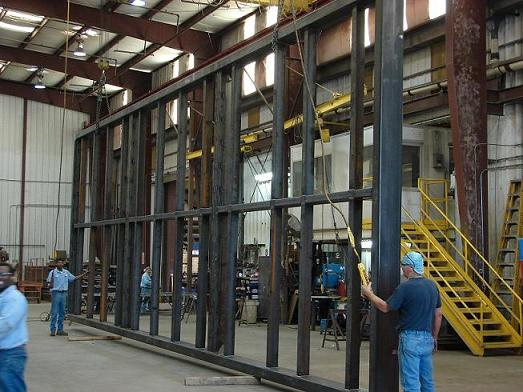 Fabricated Wall Frame