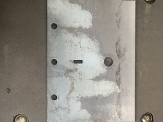 12 GA Carbon Steel Punched Parts
