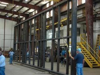 Fabricated Wall Frame