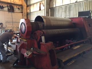 "Davi Machine rolling 3/4"" Stainless Steel"