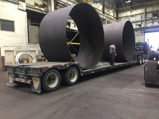 Rolled Cylinder with a 12' ID