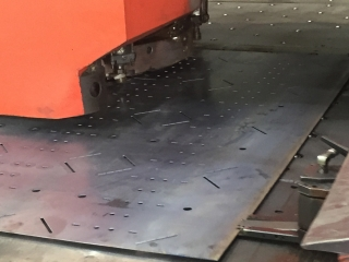 Amada Punch in use