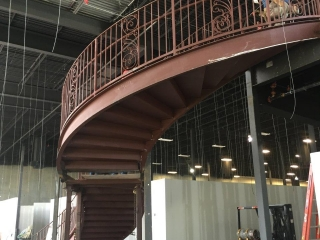 Rolled and Twisted by CSMW. Assembled and Erected by Victory Steel Erectors.