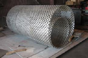 Rolled Perforated Cylinder